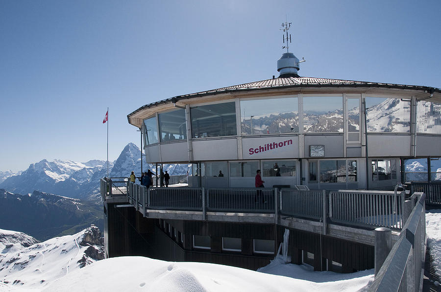 Swiss Photograph - Schilthorn by David Yack