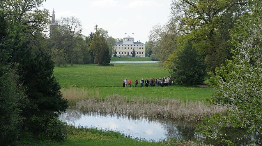 Woerlitzer Park Photograph - Schloss Woerlitz by Olaf Christian