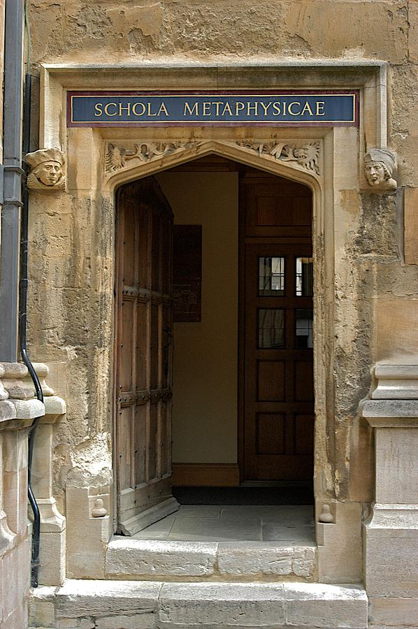 Bodleian Library Photograph - Schola Metaphysicae by Joseph Yarbrough