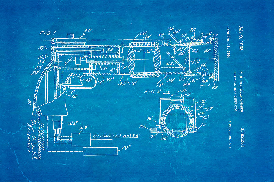 Schollhammer electron beam gun patent art 1968 blueprint photograph aviation photograph schollhammer electron beam gun patent art 1968 blueprint by ian monk malvernweather Image collections