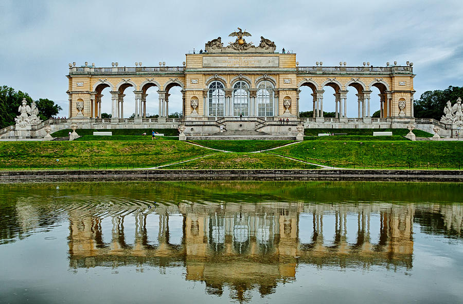 Austria Photograph - Schonbrunn Glorietta by Viacheslav Savitskiy