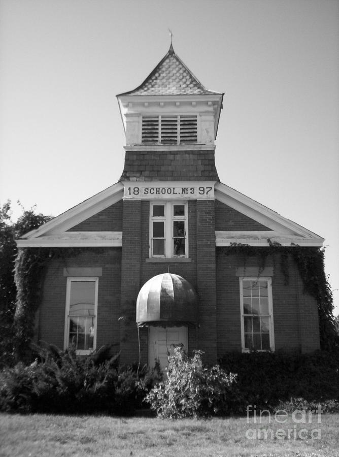 School House Photograph - School House by Michael Krek