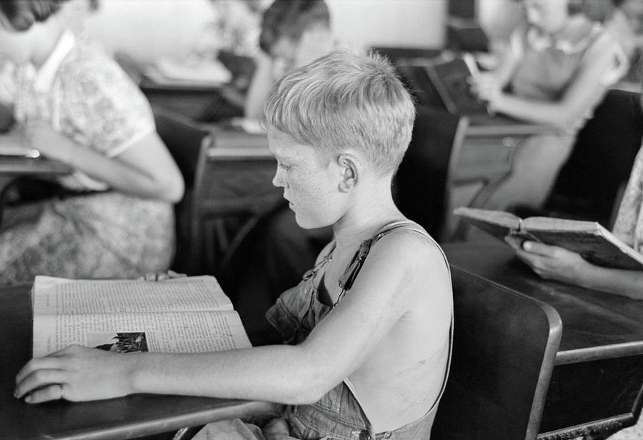 1938 Photograph - Schoolboy, 1938 by Granger