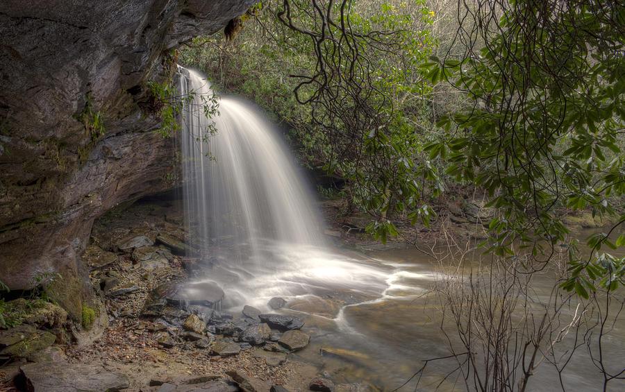 Appalachian Photograph - Schoolhouse Falls by Stephen Gray