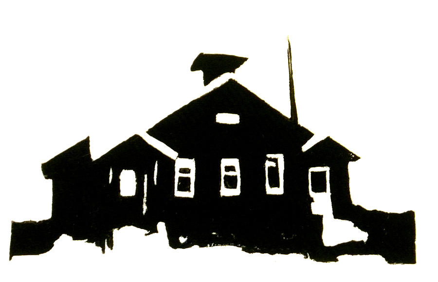 schoolhouse silhouette chris devries