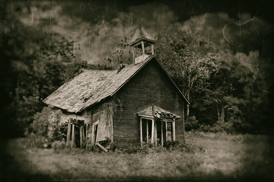 Abandoned Photograph - Schools Out by Tom Mc Nemar