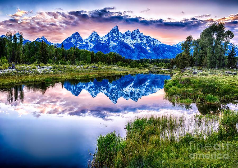 Blue Teton by Bitter Buffalo Photography