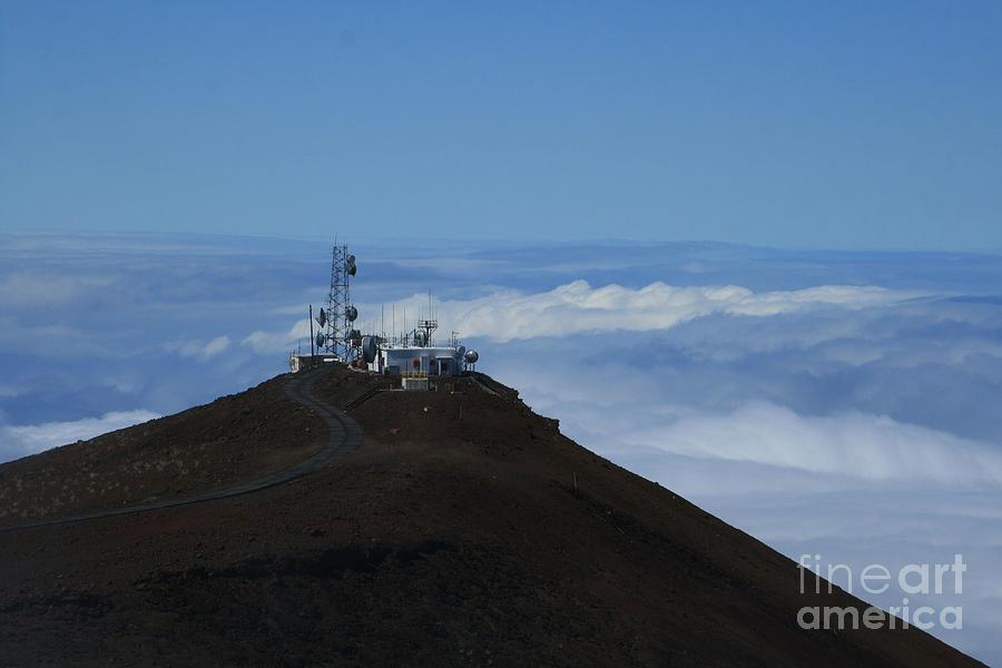 Aloha Photograph - Science City Haleakala by Sharon Mau