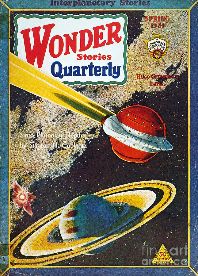 1931 Photograph - Science Fiction Cover, 1931 by Granger