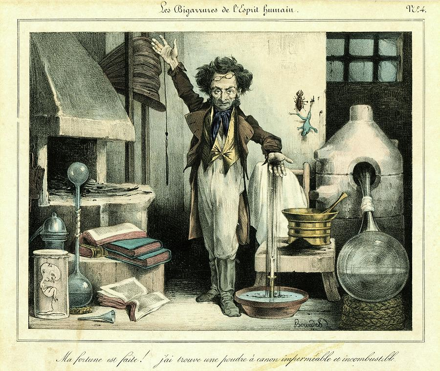 Human Photograph - Scientist by Chemical Heritage Foundation/science Photo Library