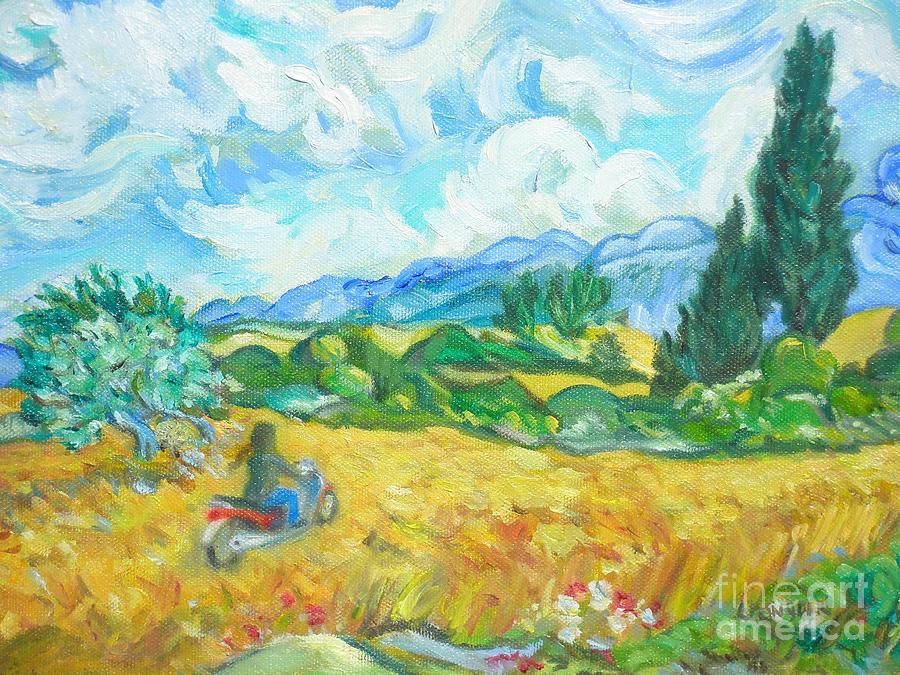 Scooter Gogh by Liz Snyder