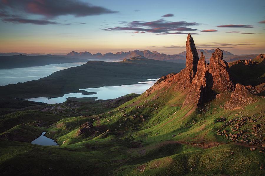 Scotland Photograph - Scotland - Old Man Of Storr by Jean Claude Castor