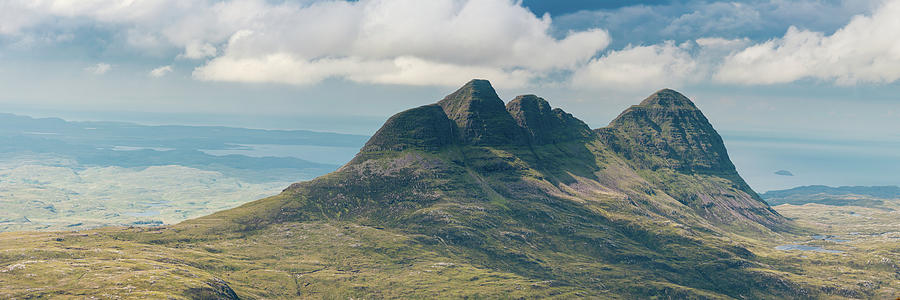 Scotland Suilven Iconic Mountain Ridge Photograph by Fotovoyager