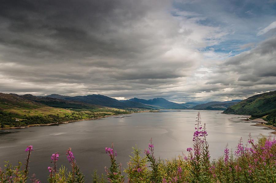 Europe Photograph - Scotlands Landscape by Sergey Simanovsky