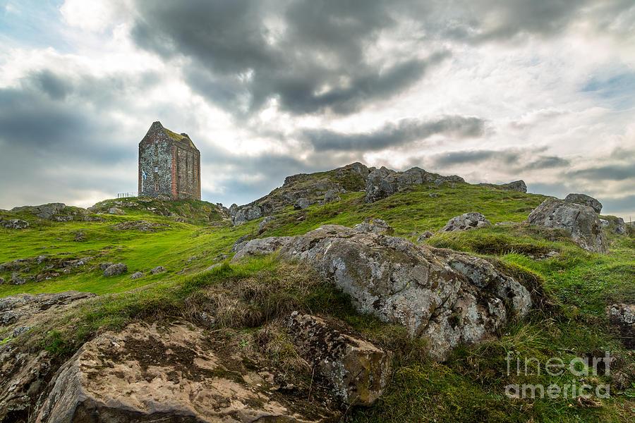 Scotland Photograph - Scottish Borders - Smailholm Tower by Matt  Trimble