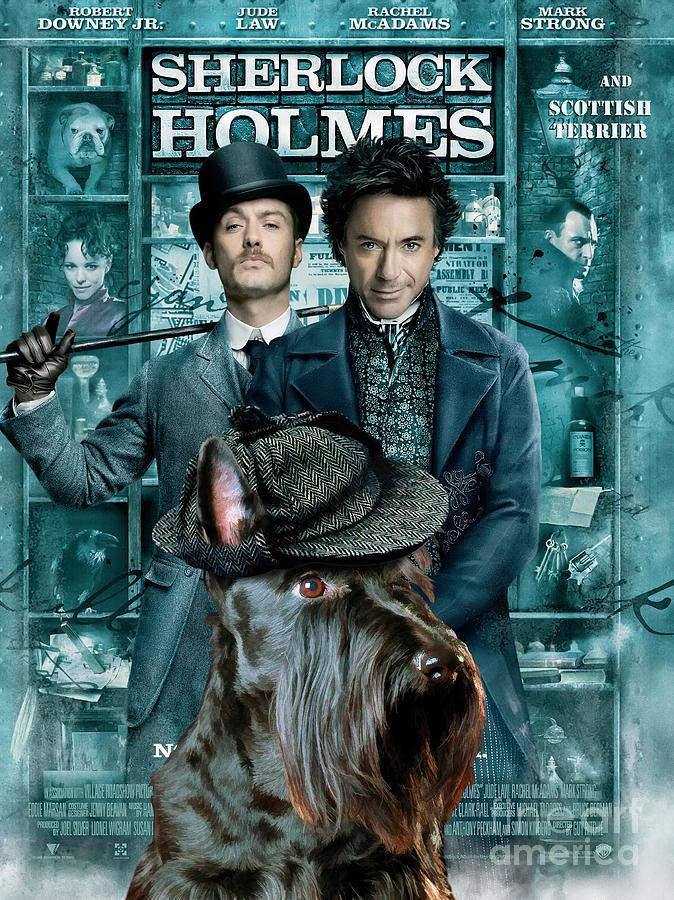 Resultado de imagen de poster Sherlock Holmes