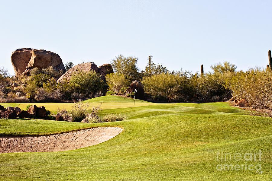 Troon Photograph - Scottsdale Golf by Scott Pellegrin