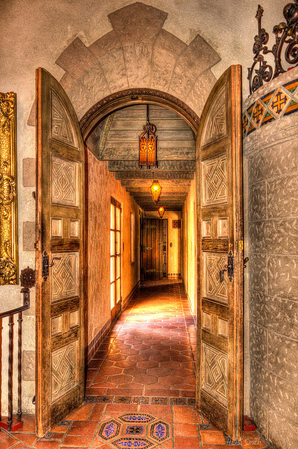 Architecture Photograph - Scottys Castle  by Heidi Smith
