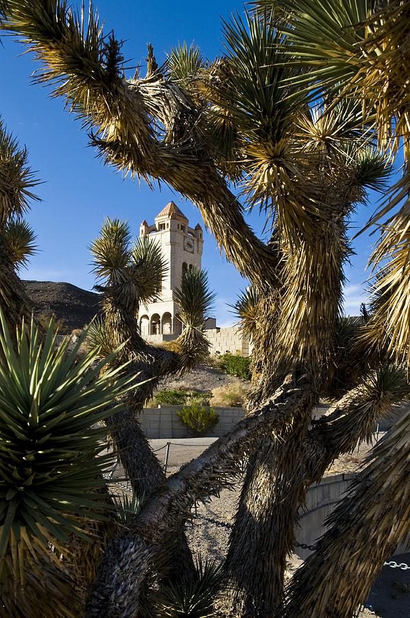 Scotty's Castle Photograph - Scottys Castle in Death Valley California by Pam  Elliott