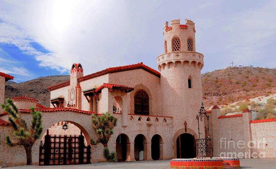 Scotty's Castle Photograph - Scottys Castle by Kathleen Struckle