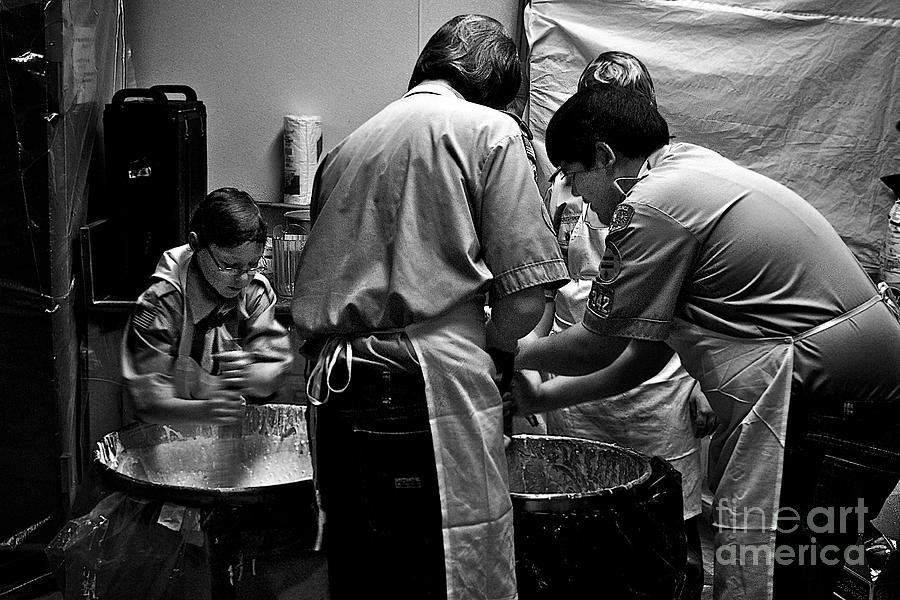 Scouts Pancake Breakfast Photograph