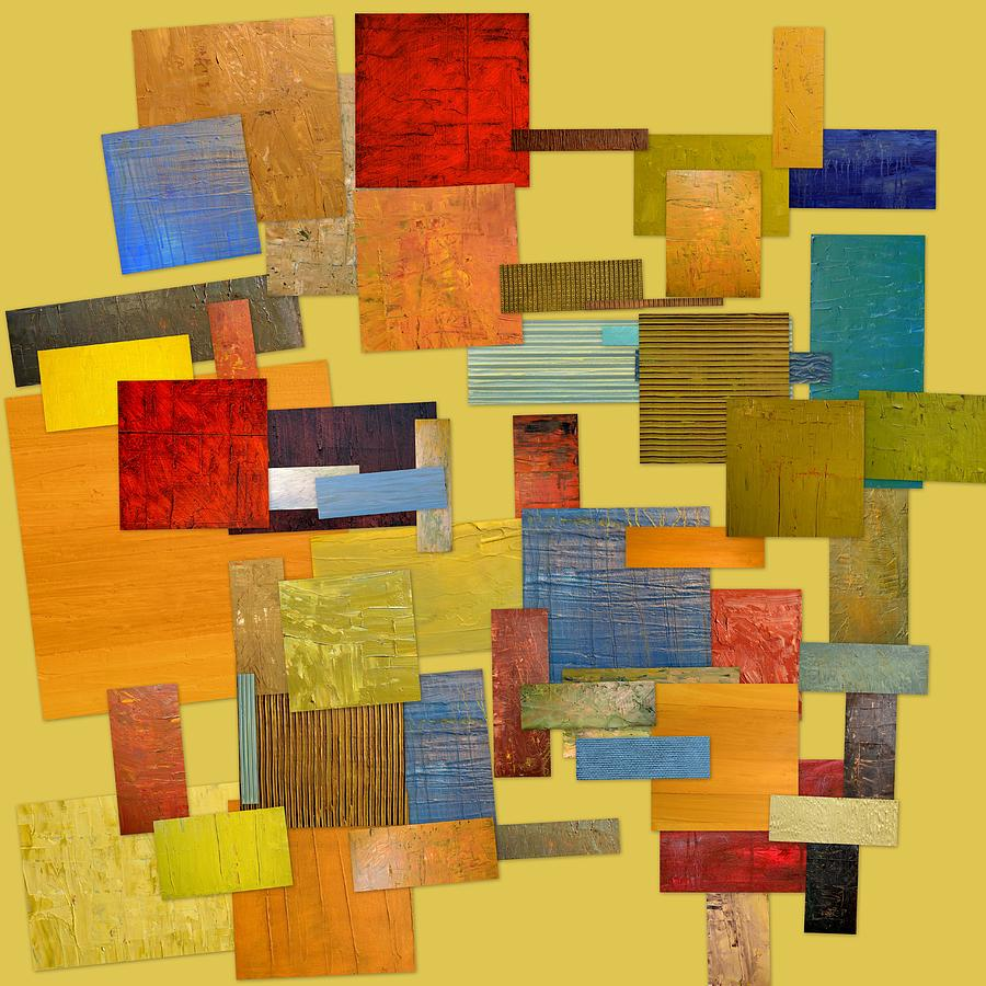 Textured Painting - Scrambled Eggs Lll by Michelle Calkins