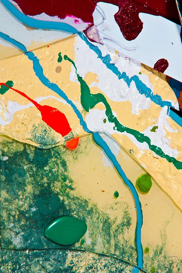 Fluid Photograph - Scrap Pile 2 by Jacob Brewer