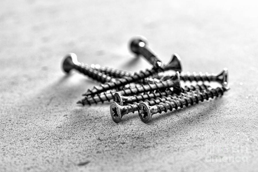 Screw Photograph - Screws by Jim Orr