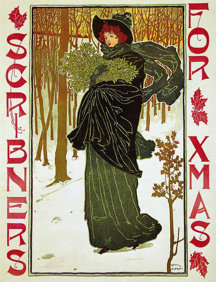 Scribners For Christmas 1895 Photograph
