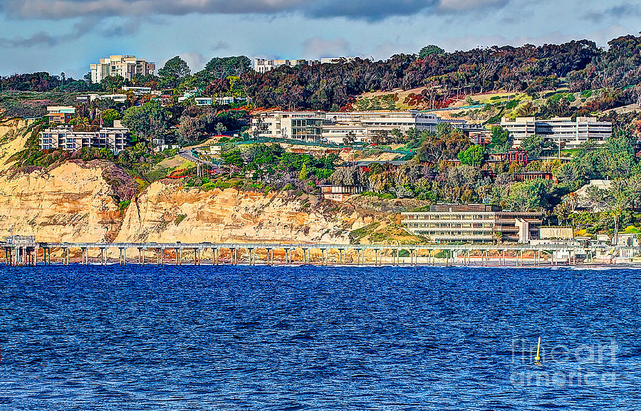 Scripps Photograph - Scripps Institute Of Oceanography by Jim Carrell
