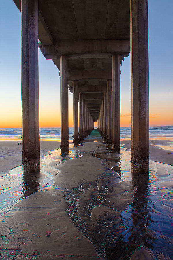 Pier Photograph - Scripps Pier #1 by Lauri Novak