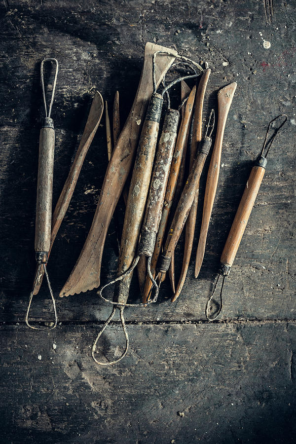 Sculpting Tools Photograph by Alexd75
