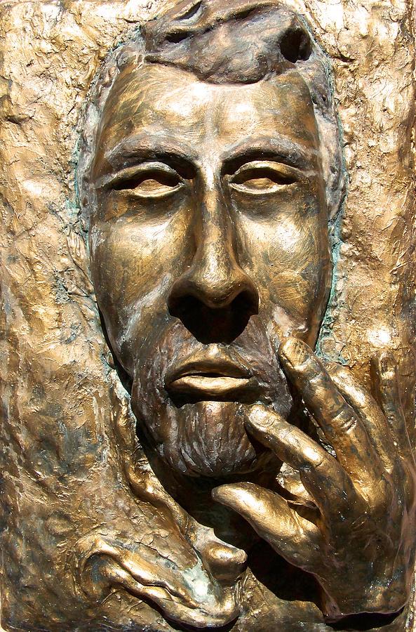 Sculpture Sculpture - Sculpting  Van Gogh by Azul Fam