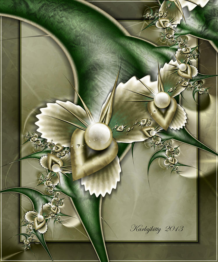 Sculptured Pearls by Karla White