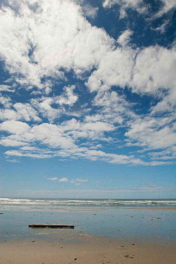 Ocean Photograph - Sea And Sky 2 by Lisa Chorny