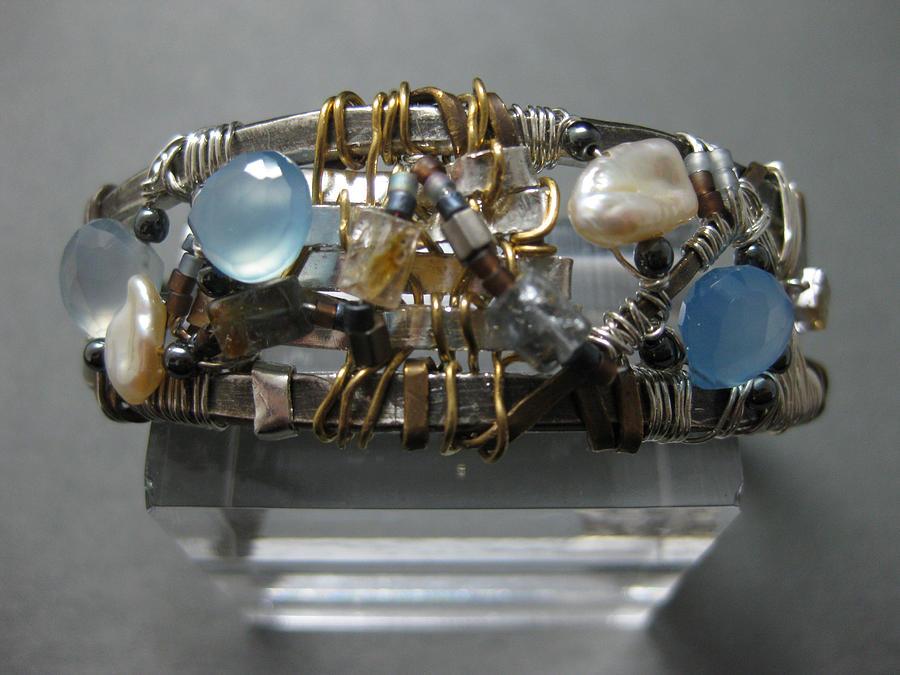 Sea Jewelry - Sea Bracelet by Brenda Berdnik