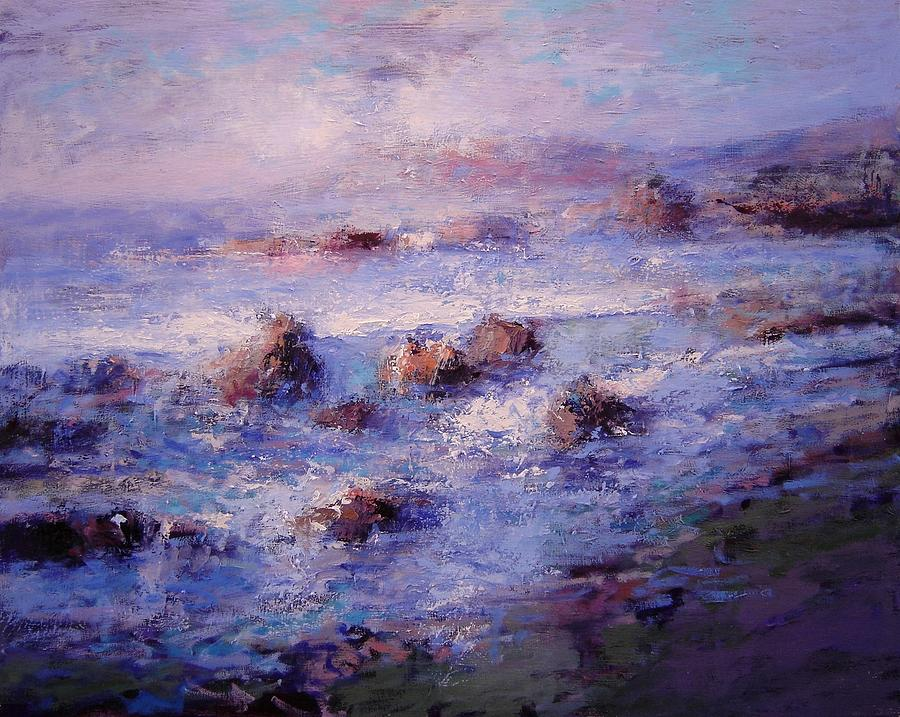 Sea Painting - Sea Breeze by R W Goetting