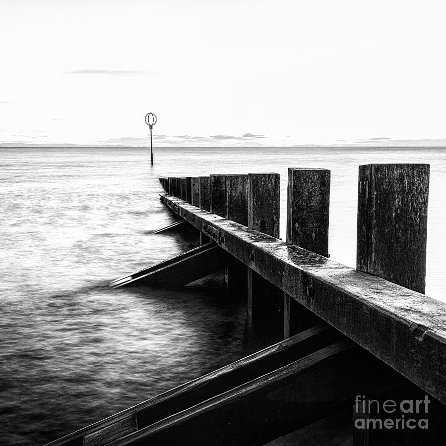 Scotland Photograph - Sea Defences Portobello by John Farnan