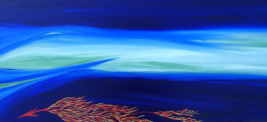 Sea Dragon Painting - Sea Dragon by Robert Nickologianis