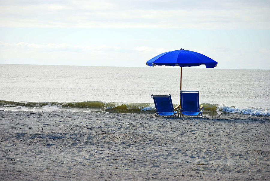 Seats Photograph - sea by F Salem