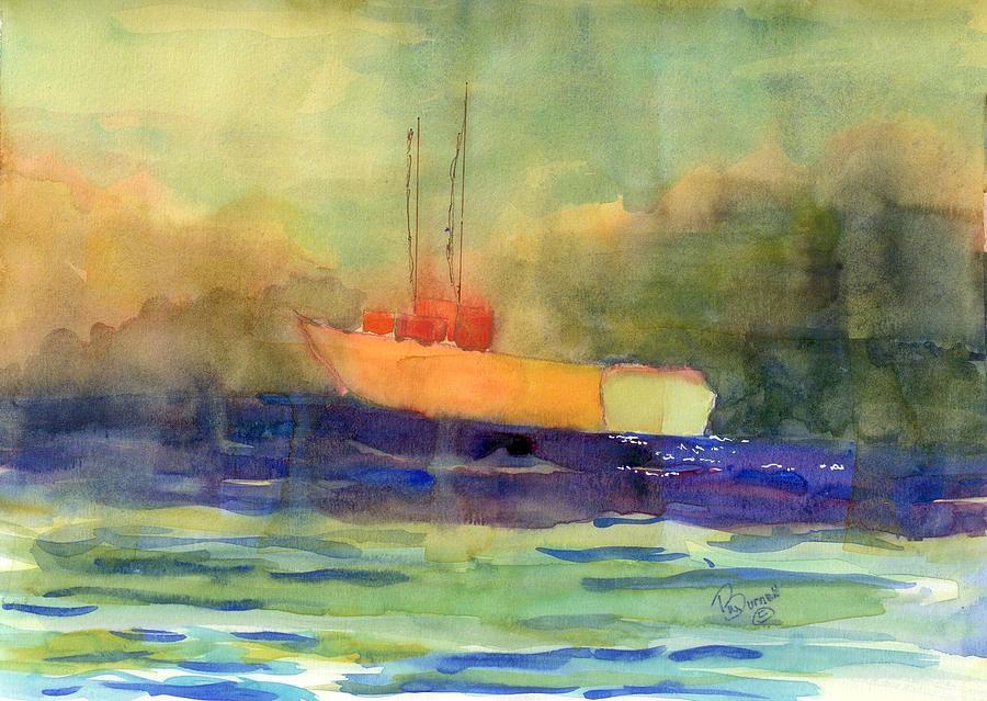 Sea Painting - Sea Farer by Marsden Burnell