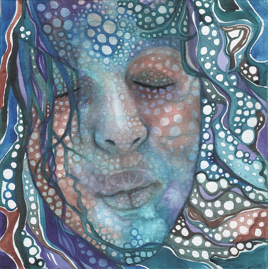 Sea Foam Painting - Sea Foam by Tamara Phillips