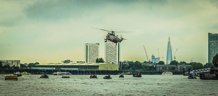 Sea King Helicopter by Dawn OConnor