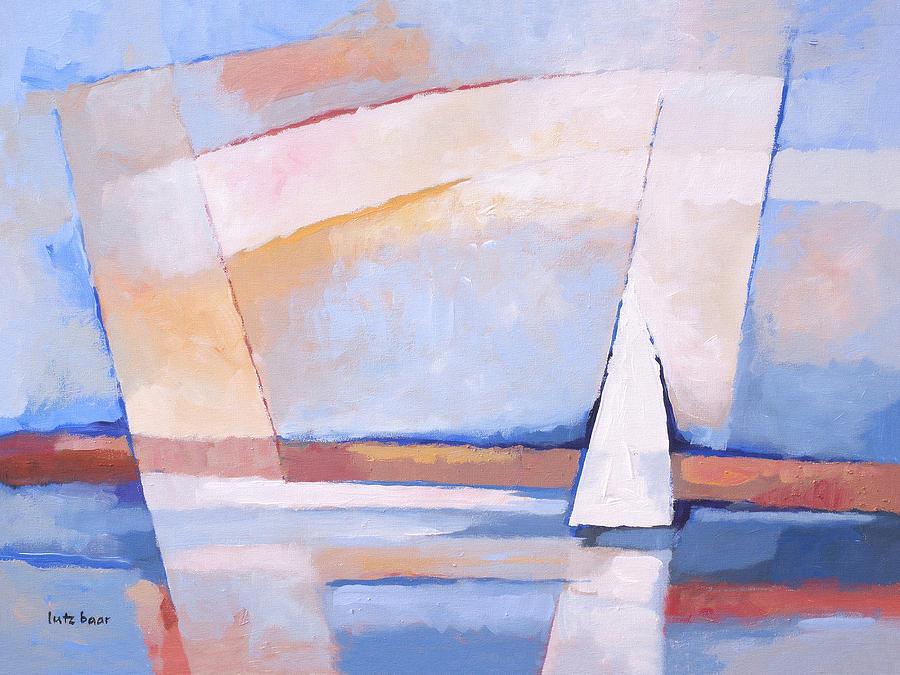 Seascape Painting - Sea Light by Lutz Baar