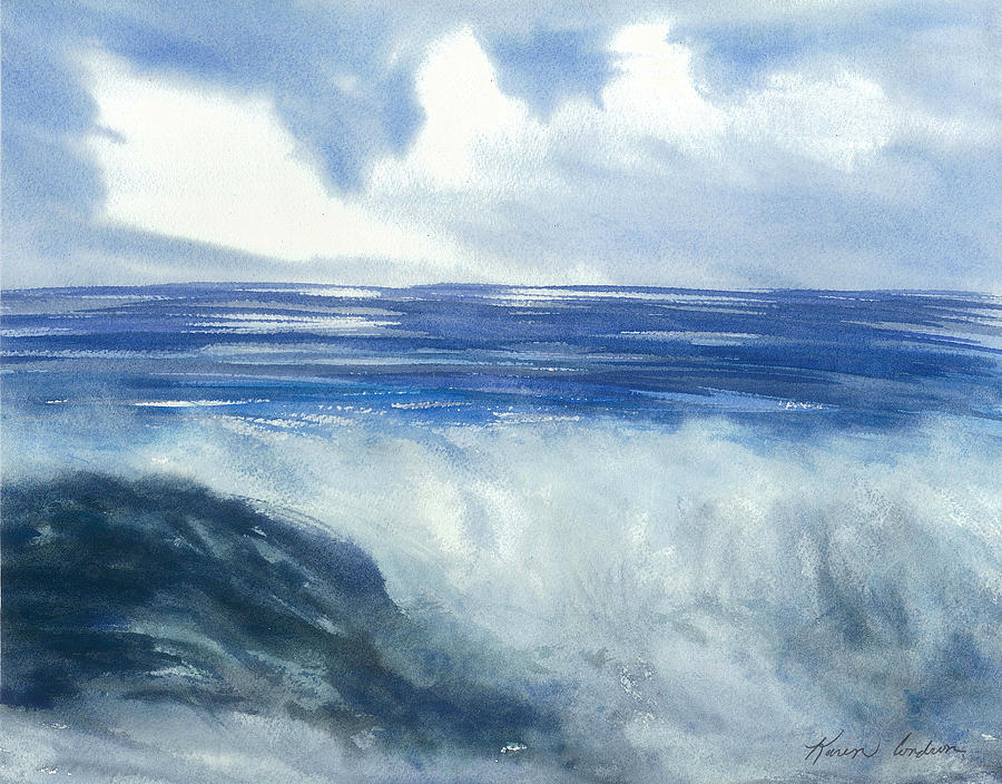 Sea Of Glory  Painting by Karen  Condron