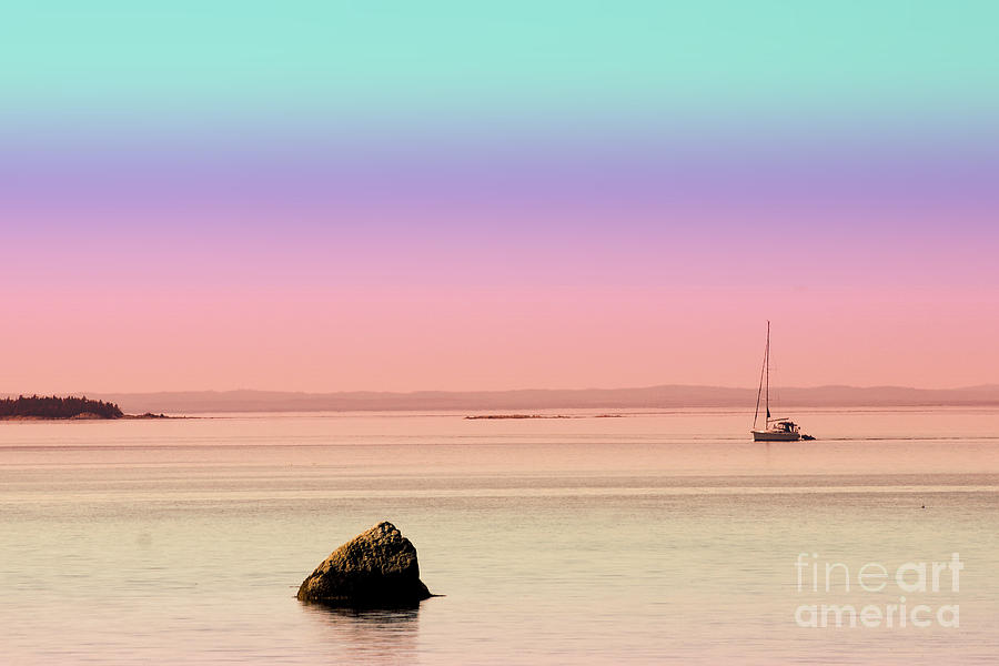 Sea Photograph - Sea Of Tranquility by Aimelle
