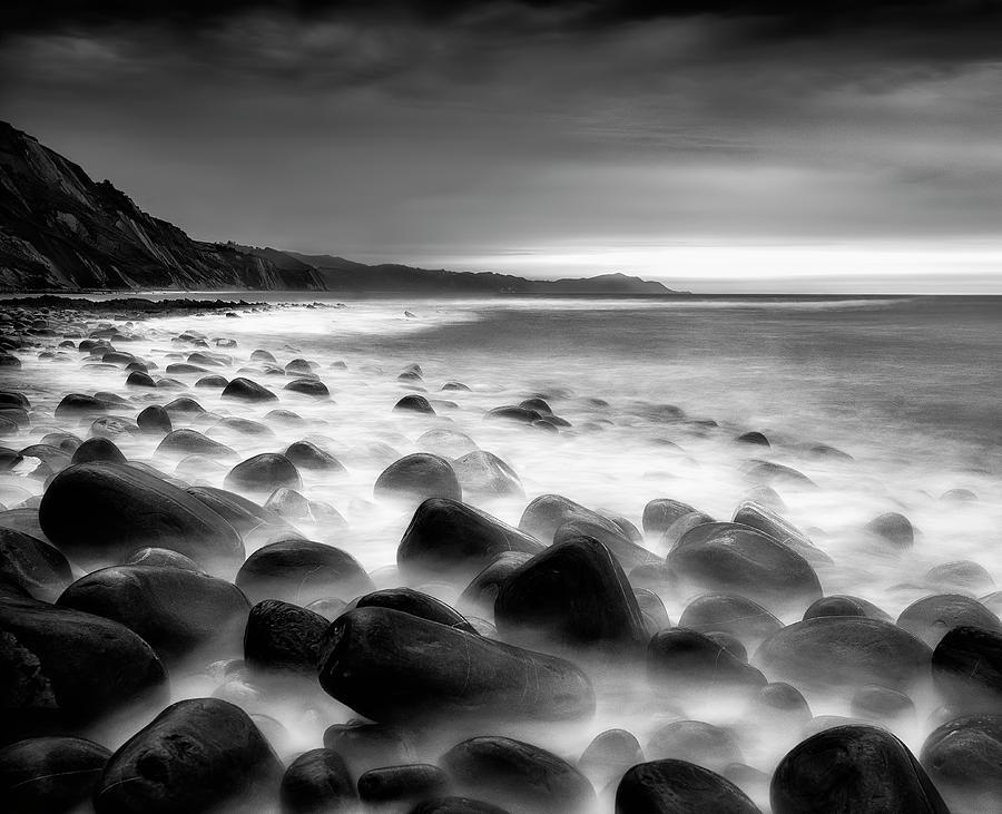 Sea Rocks Photograph by Fran Osuna
