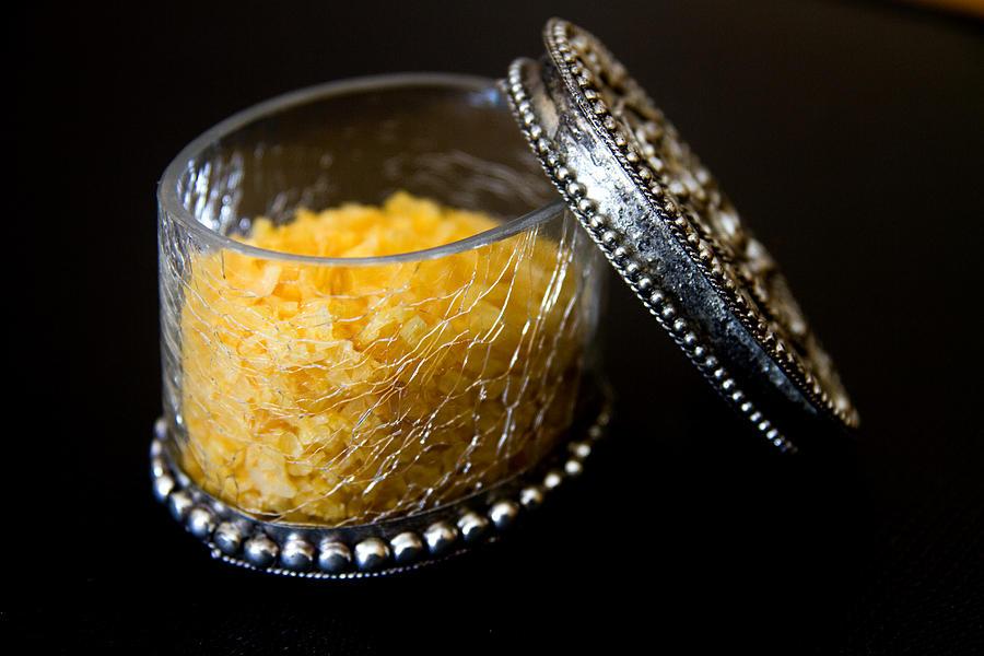 Salt Photograph - Sea Salt by Kim Lagerhem