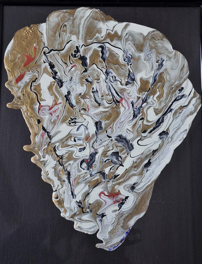 Sea Shell Painting by Brenda Chapman
