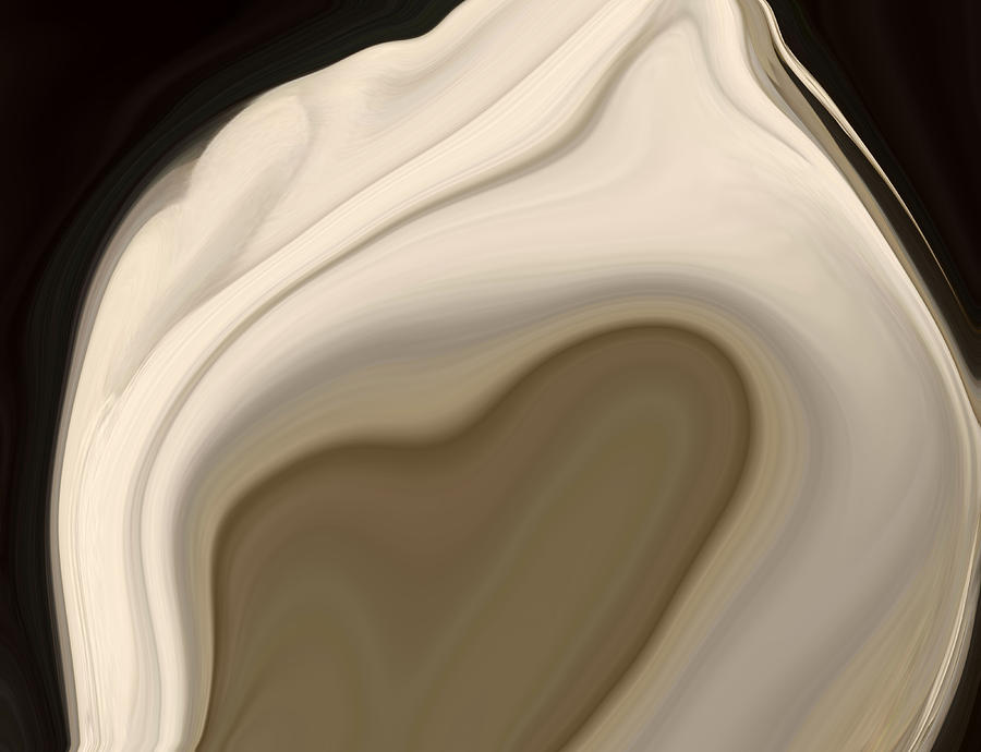 Shell Digital Art - Sea Shell No 2 by Chad Miller